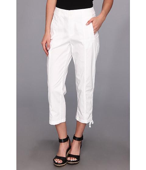 Pantaloni Caribbean Joe - Rouched Leg Capri - White