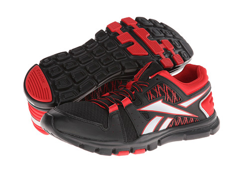 Adidasi Reebok - Yourflex Train RS 4.0 - Black/Stadium Red/Pure Silver