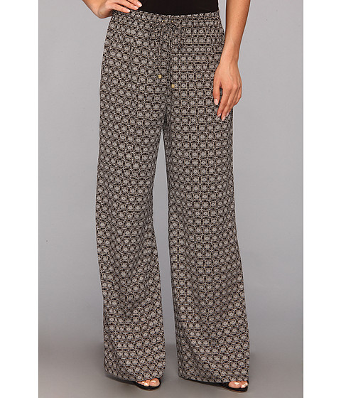 Pantaloni Calvin Klein - Wide Leg Pant M10 - Latte Combo