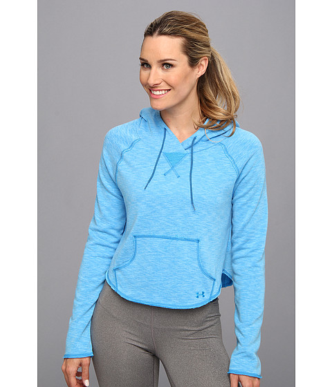 Bluze Under Armour - Rollick Hoodie - Electric Blue/Caspian/Electric Blue