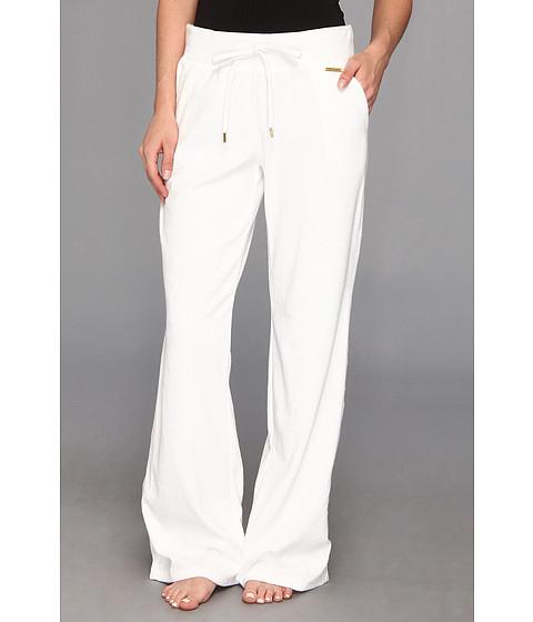 Pantaloni MICHAEL Michael Kors - Pull On French Terry Pant - White