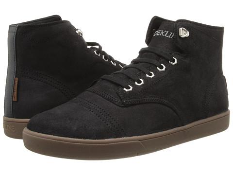 Adidasi Dekline - Everett - Black/Gum Oil Suede