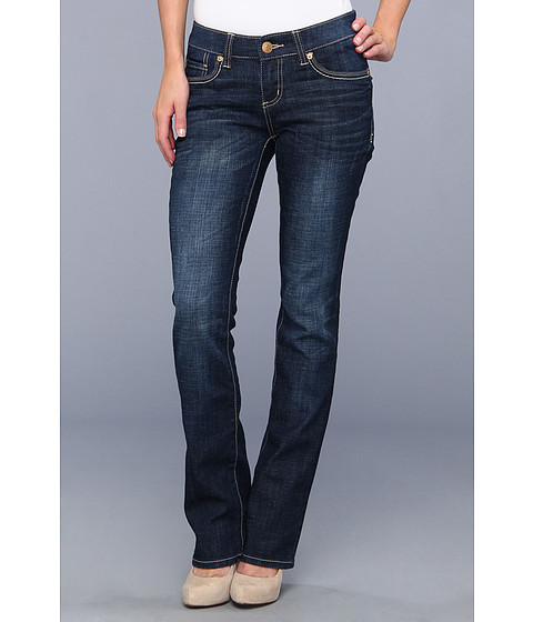 Blugi Seven7 Jeans - Slim Boot w/ Flap in Coast Blue - Coast Blue