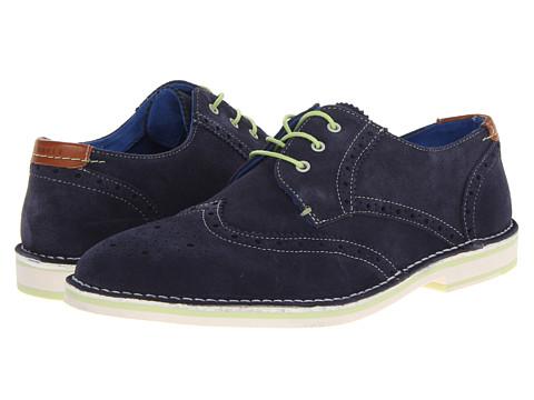 Pantofi Ted Baker - Jamfro 3 - Dark Blue Suede