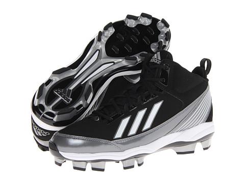Adidasi adidas - PowerAlley TPU - Black/Metallic Silver/Running White