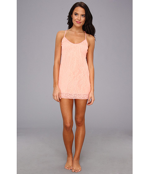 Lenjerie Betsey Johnson - Lace Tunic Chemise - Coral Reef