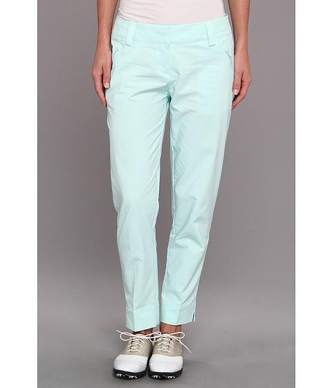 Pantaloni adidas - Contrast Cropped Pocket Pant \14 - Fresh Green/White