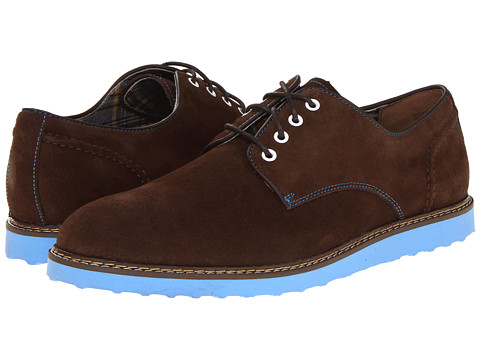 Pantofi Hush Puppies - Derby Wedge - Espresso Suede