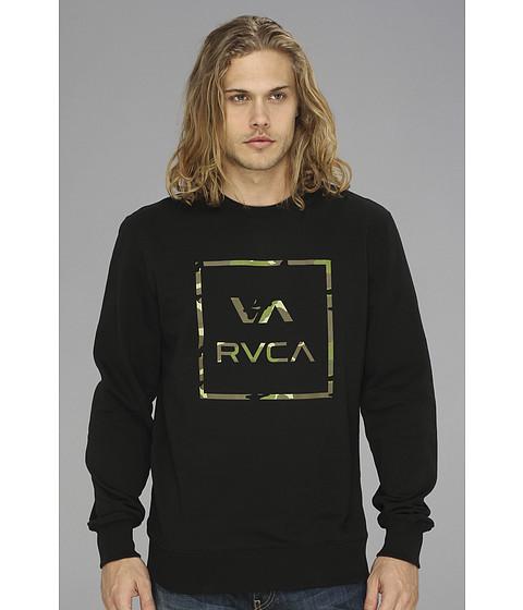 Bluze RVCA - Vamo Crew Neck L/S Fleece - Black