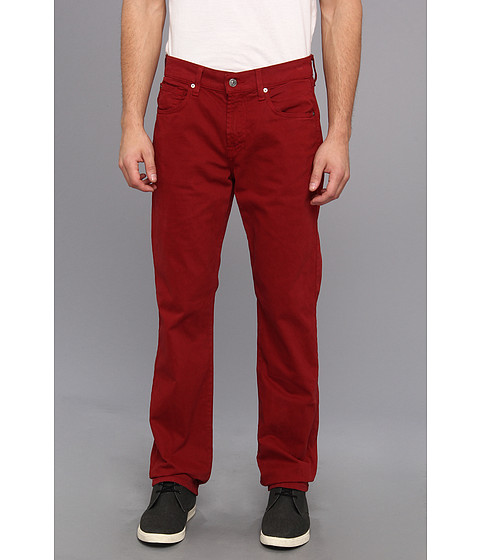 Blugi 7 For All Mankind - Carsen in Oxford Blood Red - Oxford Blood Red