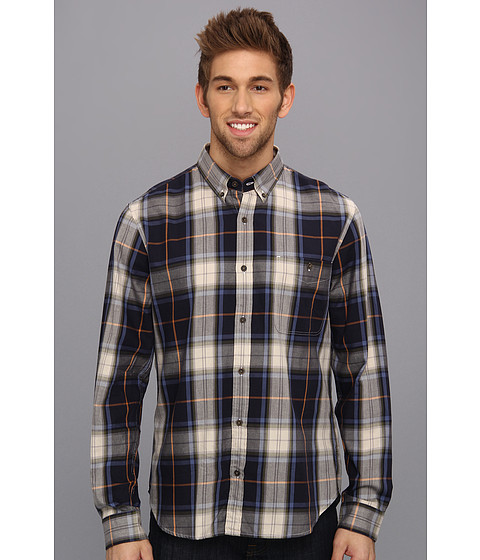Camasi 7 For All Mankind - Oxford Plaid Shirt - Twill Light
