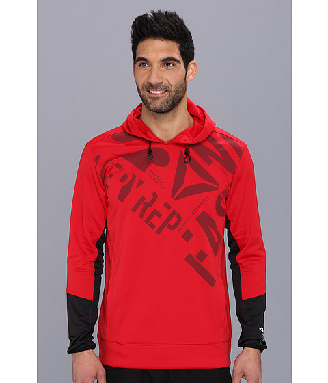 Bluze Reebok - Graphic Hoody - Excellent Red