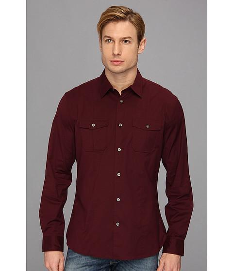 Camasi John Varvatos - Slim Fit Shirt - Garnet