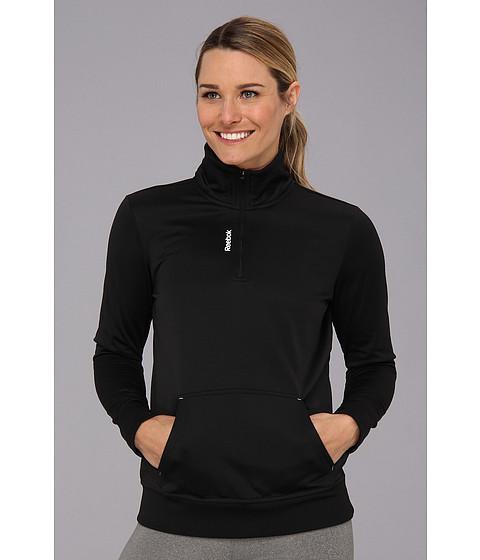 Bluze Reebok - Workout Ready Performance Fleece 1/4 Zip - Black
