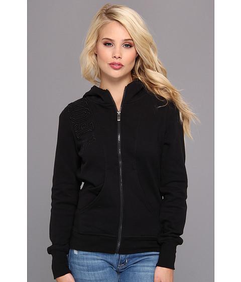 Bluze Fox - Equivalent Zip Hoody - Black