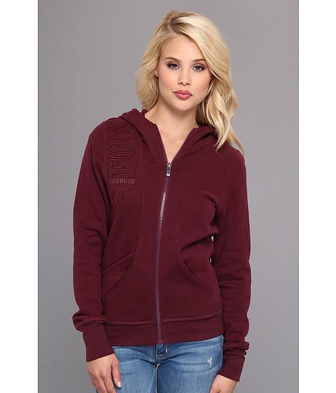 Bluze Fox - Equivalent Zip Hoody - Bordeaux
