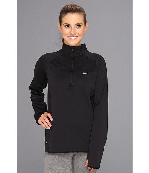 Bluze Nike - Thermal Half-Zip - Black/Reflective Silver