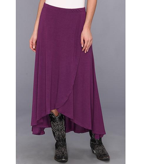 Fuste Roper - Rayon Jersey Maxi Skirt - Purple