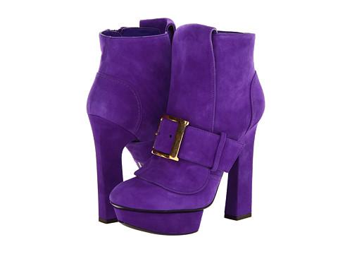 Botine Alexander McQueen - Geo Boot 130 - Purple