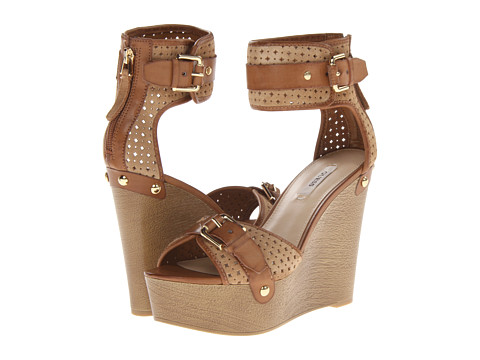 Pantofi GUESS - Clany - Brown Multi Suede