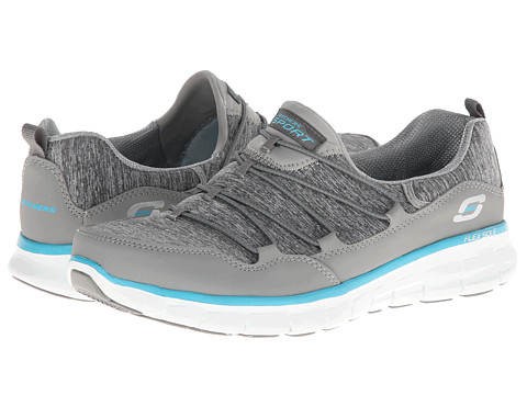 Adidasi SKECHERS - Asset Play - Gray/Blue