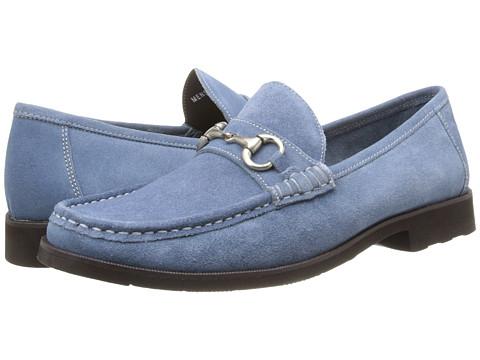 Pantofi Florsheim - Tuscany Bit - Chalk Blue Suede