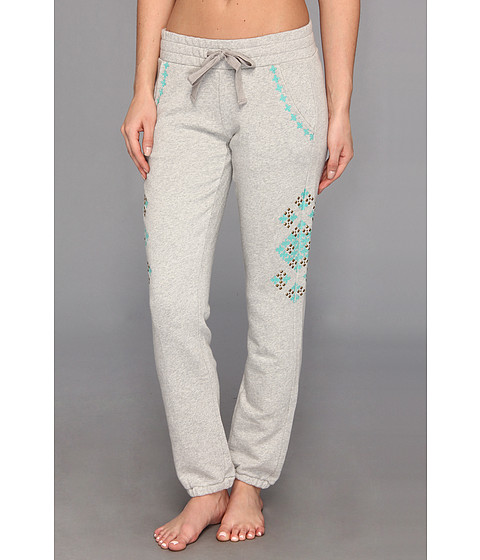Pantaloni Lucky Brand - Embellished Sweatpant - Light Heather Grey