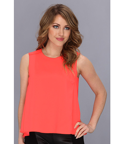 Bluze Trina Turk - Jaala Top - Hot Coral