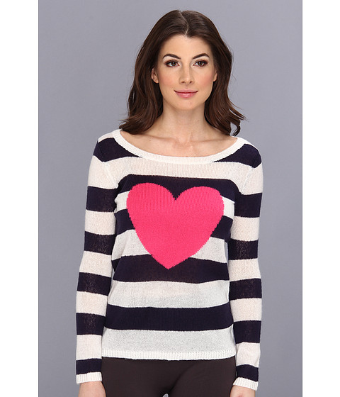 Lenjerie P.J. Salvage - Queen of Hearts Lounge Sweater - Ivory