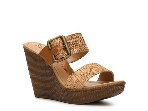 Sandale b.o.c - Ginevra Wedge Sandal - Tan