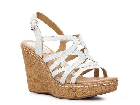 Sandale b.o.c - Nilsa Wedge Sandal - White