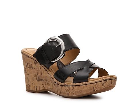 Sandale b.o.c - Stormi Wedge Sandal - Black