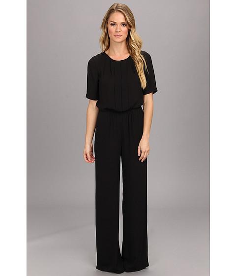 Pantaloni BCBGMAXAZRIA - Maddison Woven Jumpsuit - Black