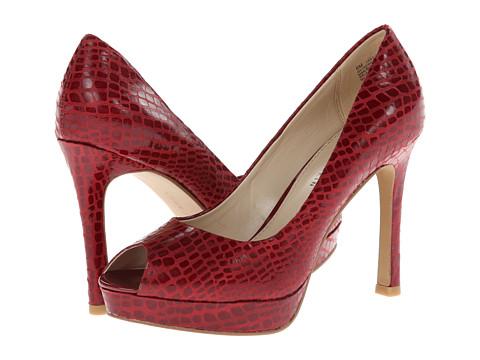 Pantofi Anne Klein New York - AK7Serafina - Dark Red Synthetic