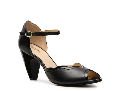 Pantofi Crown Vintage - Claire Pump - Black
