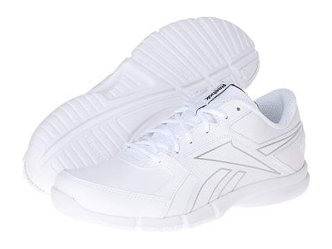 Adidasi Reebok - Walkfusion RS Leather - White/Pure Silver