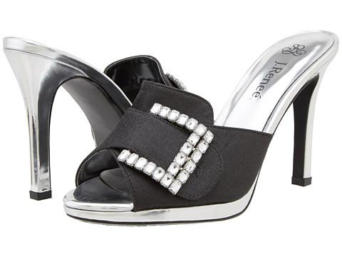 Pantofi J. Renee - Spire - Black/Silver