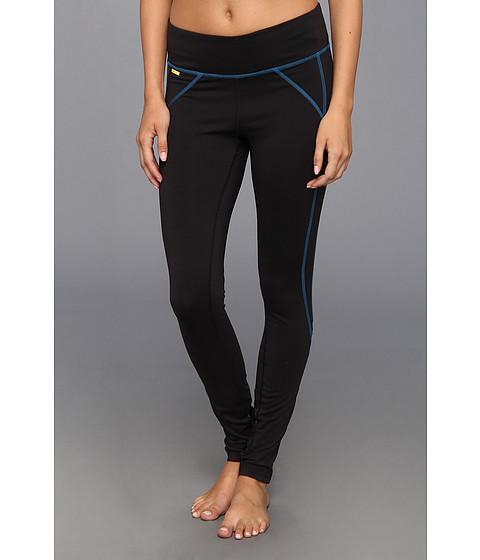 Pantaloni Lole - Hurry Up Leggings - Black/Blue Print