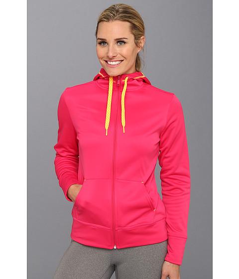 Bluze Reebok - Workout Ready Full Zip Fleece - Candy Pink