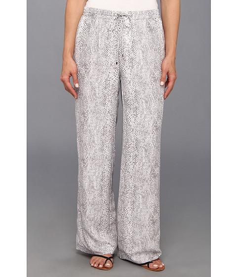 Pantaloni Calvin Klein - Printed Drawstring Pant - Grey/White