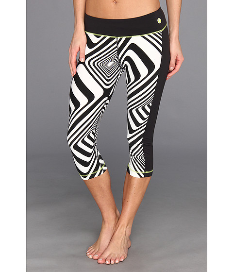 Pantaloni Trina Turk - Mid Length Leggings - Art - Black/White