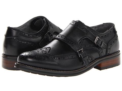 Pantofi Steve Madden - Exec - Black Leather
