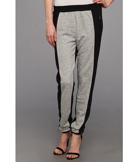 "Pantaloni BCBGMAXAZRIA - \""Brooks\"" Sweat Pant - Heather Grey W Black"