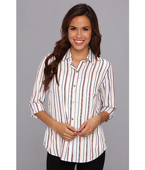 Camasi Jones New York - Taylor Color Button Down Shirt - White Multi