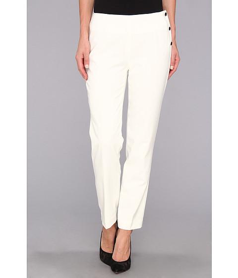 Pantaloni Calvin Klein - Lux Stretch Side Snap Pant - Birch