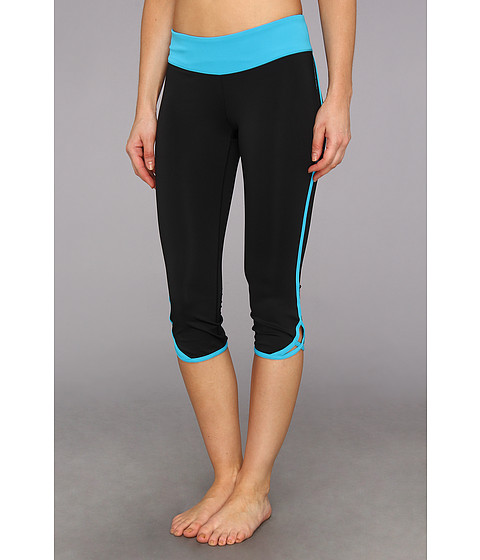 Pantaloni New Balance - Crossover Capri - Blue Infinity