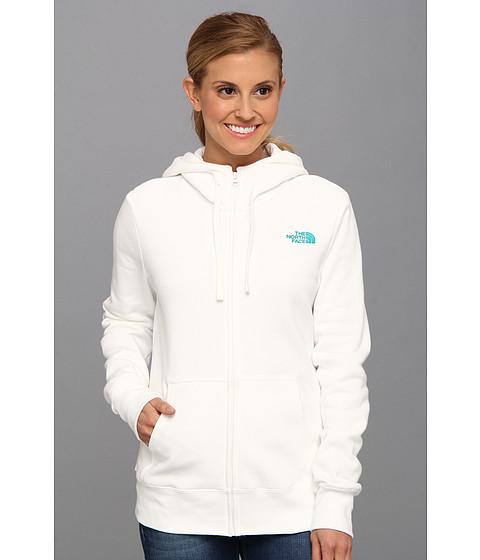 Bluze The North Face - EMB Logo Full Zip Hoodie - TNF White/Jaiden Green