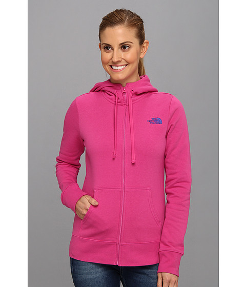 Bluze The North Face - EMB Logo Full Zip Hoodie - Azalea Pink/Marker Blue