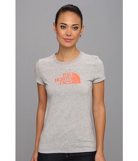 Bluze The North Face - S/S Half Dome Tee - Heather Grey/Miami Orange