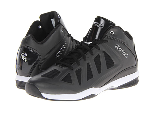 Adidasi AND1 - Backlash Mid - Black/Black/White